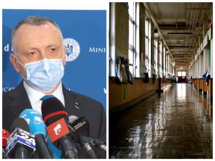 Ministrul Educației Sorin Cîmpeanu