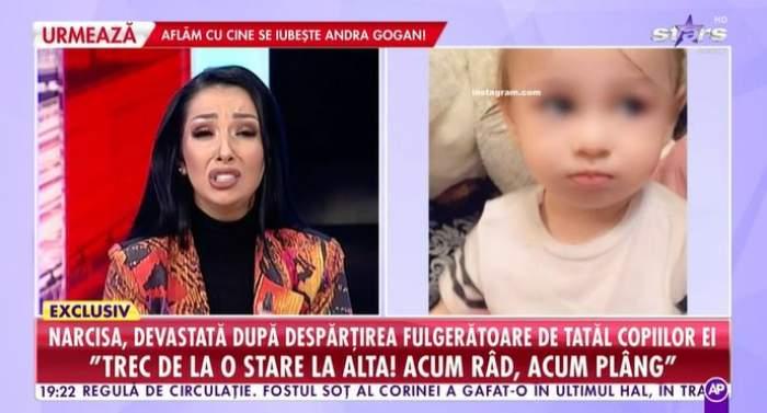Narcisa Moisa, în lacrimi, în platou la Antena Stars.