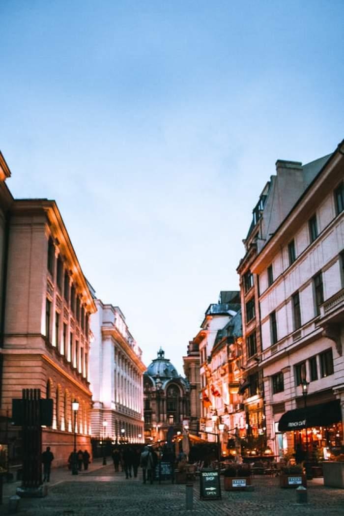centrul vechi al Bucureștiului