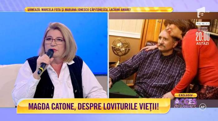 magda catone pe canapea acces direct