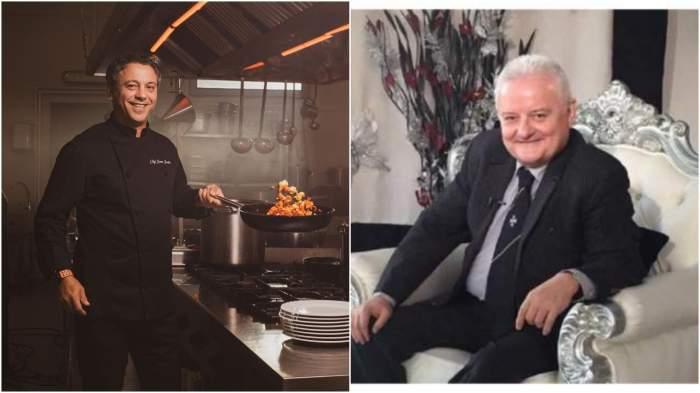 Colaj cu Sorin Bontea în bucătărie/ Irinel Columbeanu.