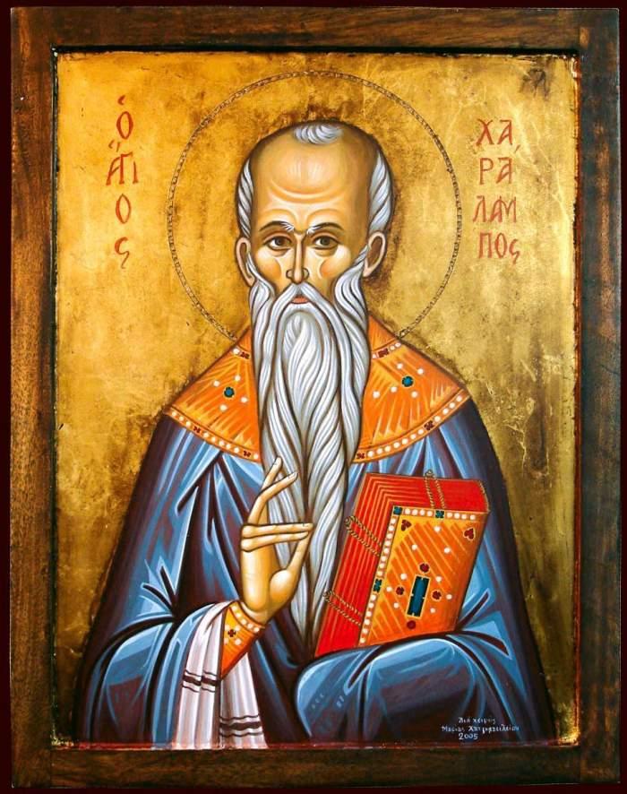 Acatistul Sf. Haralambie, prăznuit pe 10 februarie
