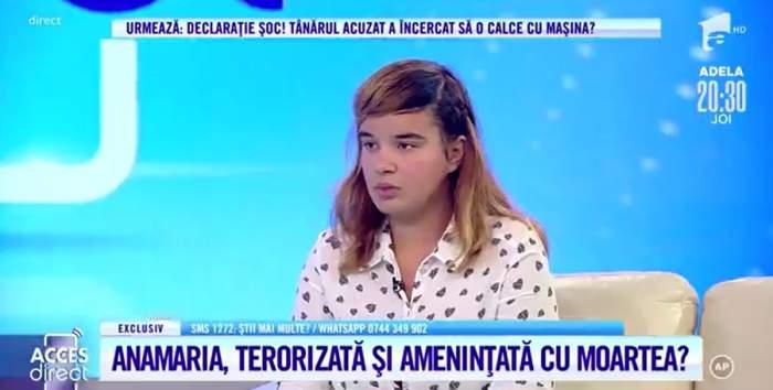 """Acces Direct. Tânără de 18 ani, terorizată și amenințată cu moartea de vărul său! """"A vrut să dea cu mașina peste mine"""" / VIDEO"""