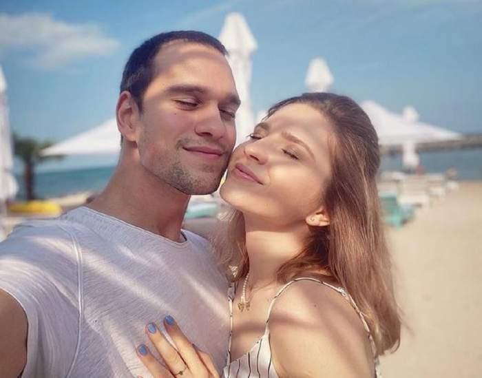 Cristina Ciobănașu și Vlad Gherman vacanță