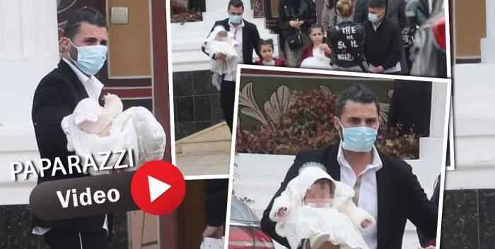 Eveniment mare în familia lui Pepe, la o zi de la divorțul de Raluca Pastramă! Cântărețul a devenit naș de botez! / VIDEO PAPARAZZI