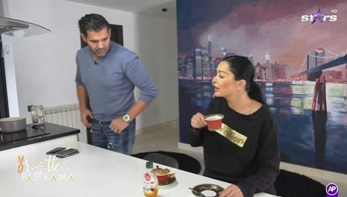 Brigitte și Florin Pastramă, în emisiune