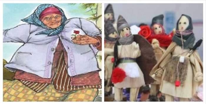 Imagini ilustrative pentru Baba Dochia