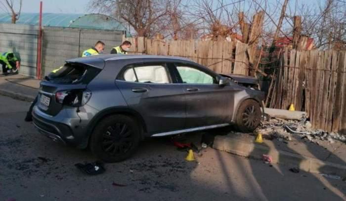 masina accident andronache