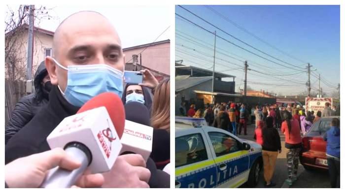 """Primarul Sectorului 2 a ajuns la locul accidentului din cartierul Andronache! Martorii la tragedie s-au revoltat: """"Rolul meu este să previn"""" / VIDEO"""