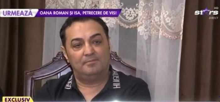 Petrică Cercel, în ținută negru, la Antena Stars