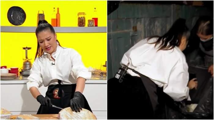 Colaj cu Minh Binh în bucătăria Chefi la cuțite.