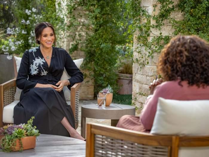 Semnificația secretă a rochiei pe care Meghan Markle a purtat-o la interviul oferit jurnalistei Oprah Winfrey