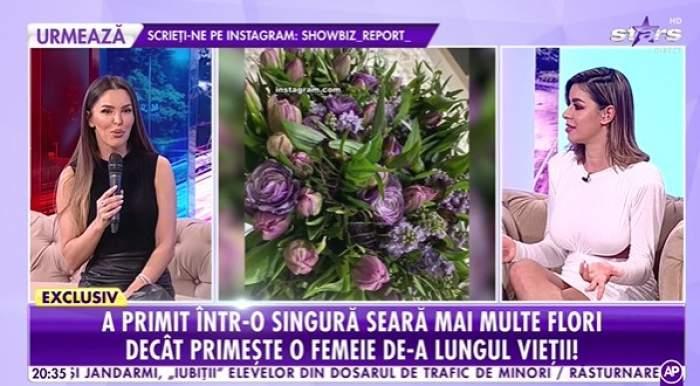 Denisa Nechifor , la Showbiz Report