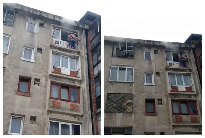 Incendiu devastator în Uricani! Oamenii au ieșit pe geam pentru a se salva de flăcări / FOTO