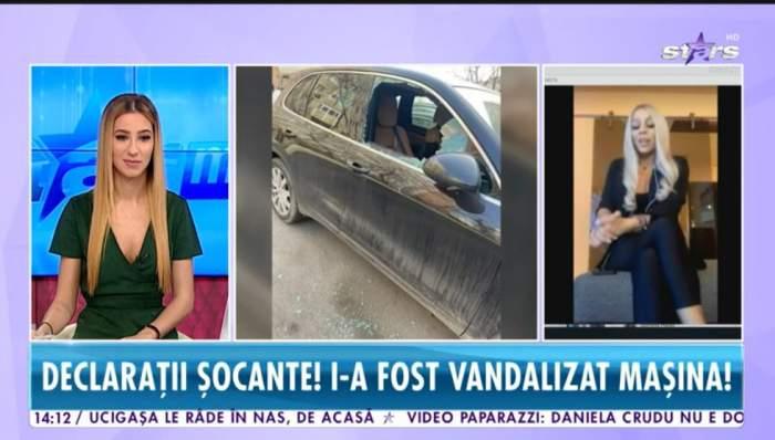 Iasmina Halas a vorbit la Antena Stars despre masina care i-a fost sparta