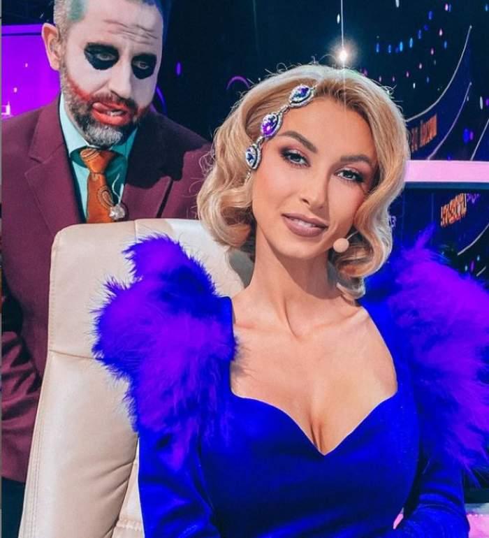 Andreea Bălan a întors toate privirile la Te cunosc de undeva, cu o rochie spectaculoasă! Ce apariție de senzație a avut jurata / FOTO