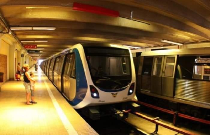 O copilă de 13 ani a fost lovită de metrou la stația Unirii, în urmă cu puțin timp! În ce stare se află acum