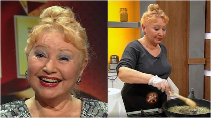 Captură cu Rodica Popescu Bitănescu în platou la Chefi la cuțite.