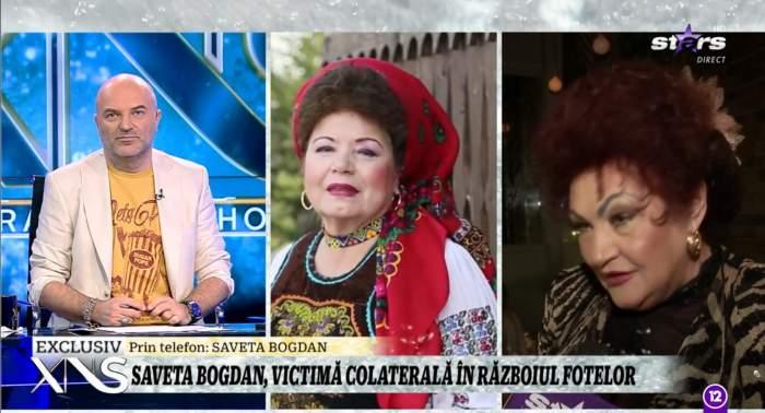 Saveta Bogdan vorbeste la Xtra Night Show despre acuzatiile Elenei Merisoreanu