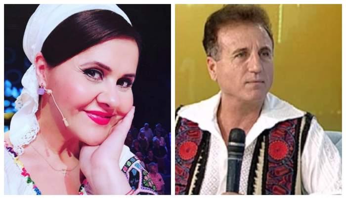 Niculina Stoican si Constantin Enceanu sunt la doua emisiuni TV diferite, poarta costum popular