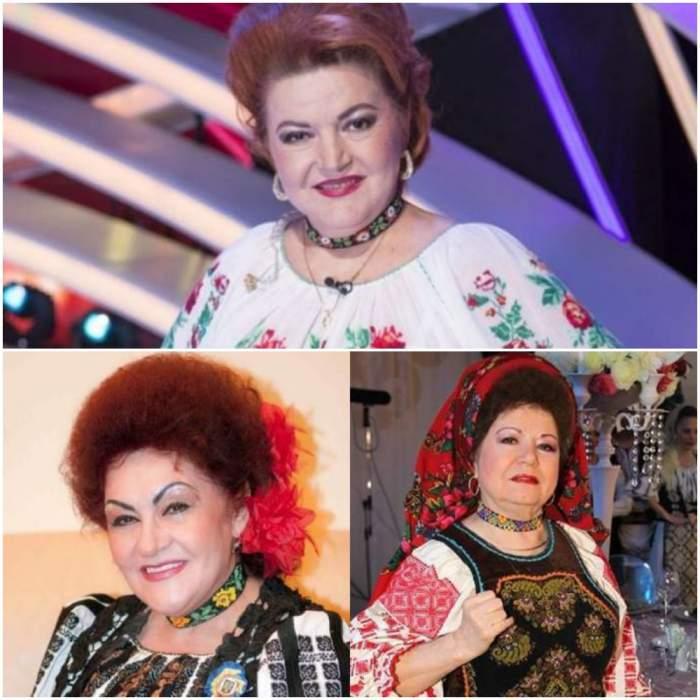 Colaj cu Maria Cârneci, Elena Merișoreanu și Saveta Bogdan.