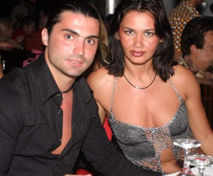 Pepe Oana Zăvoranu în perioada în care formau un cuplu, la un eveniment monden.