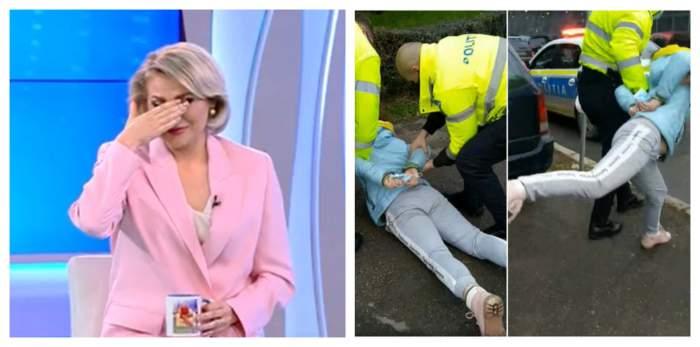 Acces Direct. Poliția a intervenit de urgență. Atacatoarea Mirelei Vaida a fost reținută
