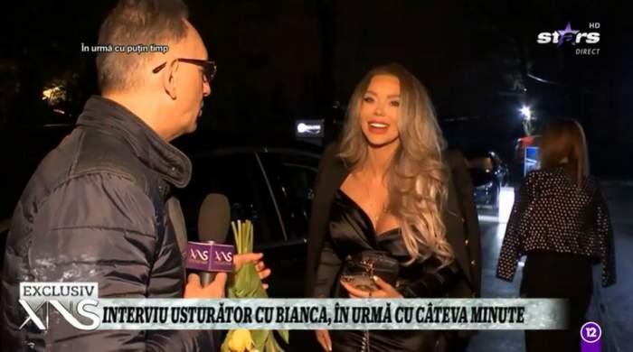 bianca dragusanu eleganta in oras interviu xtra night show