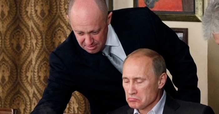 Evgheni Prigojin și Putin