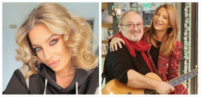 Un colaj cu Ana Baniciu și tatăl ei. În prima poză artista poartă un hanorac negru și are părul aranjat în bucle, iar în a doua își îmbrățișează tatăl, el având o chitară în brațe. Amândoi zâmbesc.