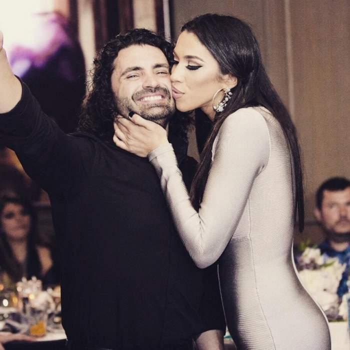Raluca Pastramă și Pepe în perioada în care formau un cuplu, la un eveniment monden.