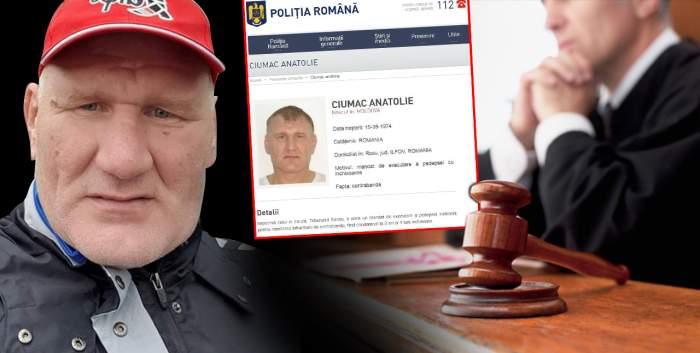 Urmăritul internațional Tolea Ciumac, aroganță maximă, la tribunal / Detalii exclusive