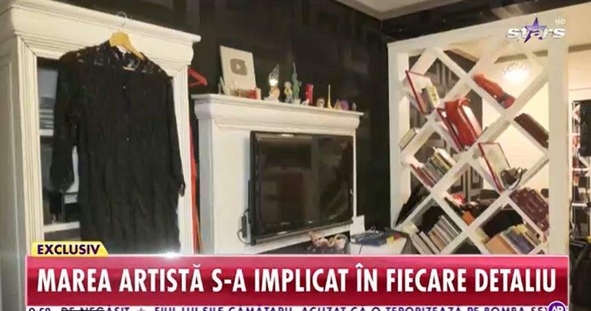 o parte din în apartamentul pe care carmen serban l-a pus la vânzare