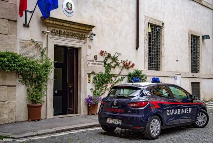secție de poliție Italia