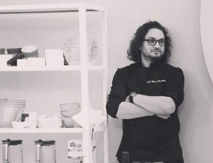 Chef Florin Dumitrescu in bucataria de la chefi la cutite