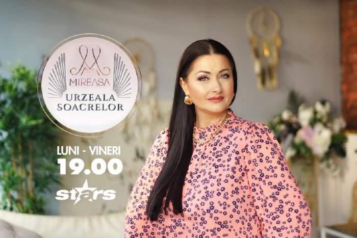 "Gabriela Cristea va prezenta ""Mireasa: Urzeala soacrelor"" la Antena Stars. Când va începe emisiunea!"