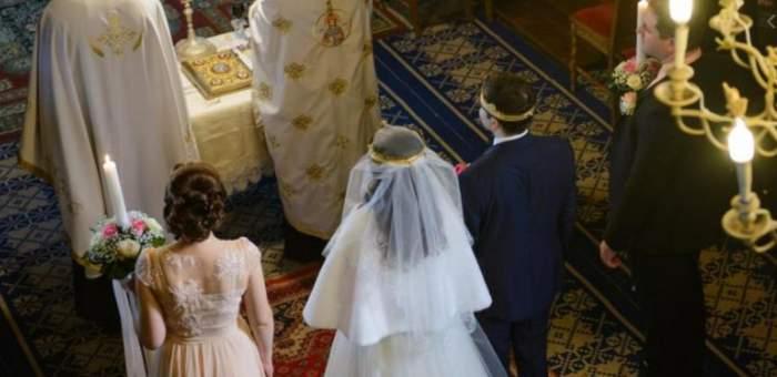 miri si nasi in timpul Sfintei Taine a casatoriei