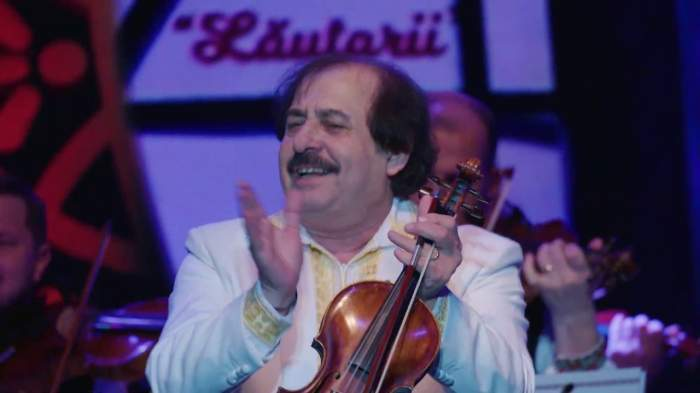 Nicolae Botgros cu o vioara in mana