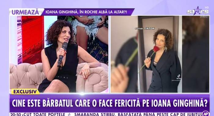 Ioana Ginghină, la Antena Stars.