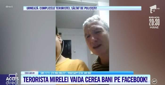 Acces Direct. Agresoarea Mirelei Vaida cerșea bani pe Internet! Antoanela Grigoraș a locuit în apartamentul complicei! / VIDEO