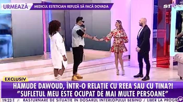 """Hamude, declarație de dragoste pentru Natalia Mateuț, în direct la Antena Stars: """"Cea mai frumoasă femeie"""""""