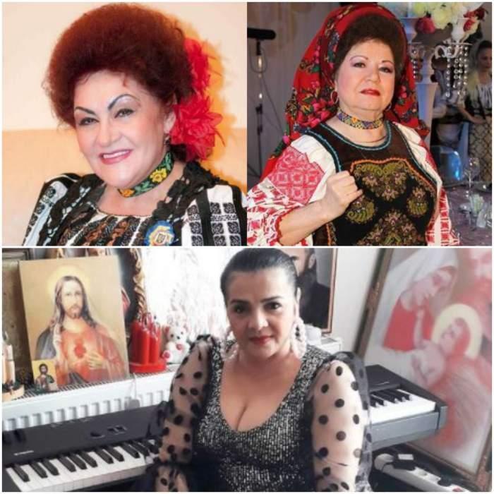 Colaj cu Elena Merișoreanu și Saveta Bogdan/ Cornelia Catanga în perioada în care trăia.