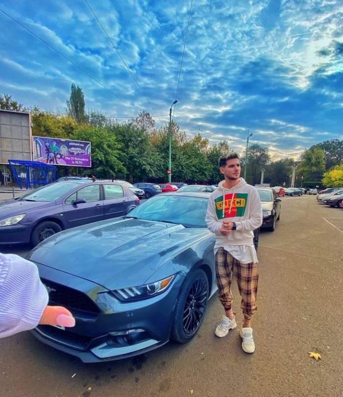 """Cuza de la Noaptea Târziu,  implicat într-un accident de mașină! Artistul și-a distrus bolidul de lux: """"Un început de weekend perfect"""" / FOTO"""