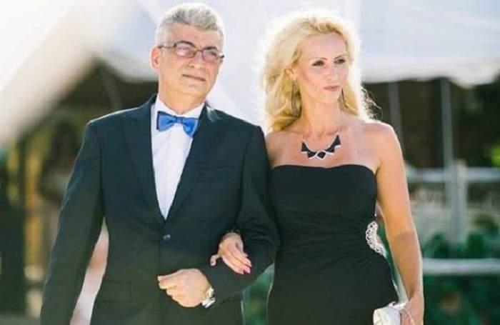Silviu si Mihaela Prigoana sunt la un eveniment imvracati elegant