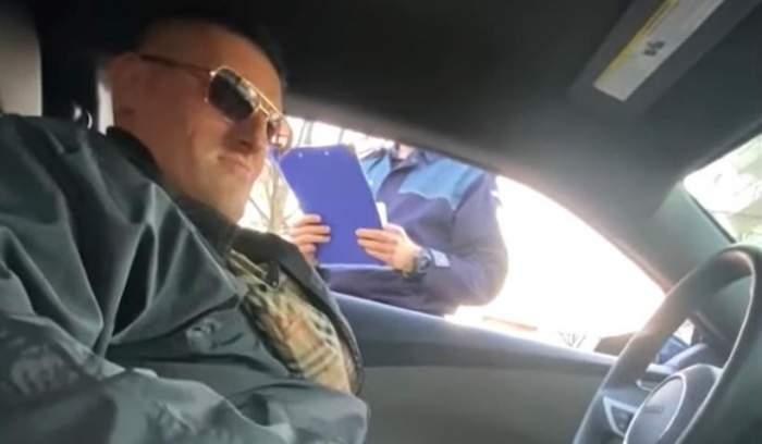 """Un interlop din Vaslui a umilit un polițist pentru că i-a dat o amendă prea mică. """"De ce nu ai dat și tu mai mult?"""""""