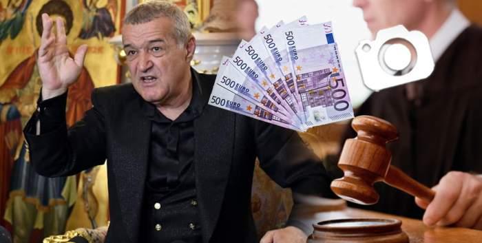 Gigi Becali, scandal total, pentru 1.800 de euro / Milionarul joacă tare
