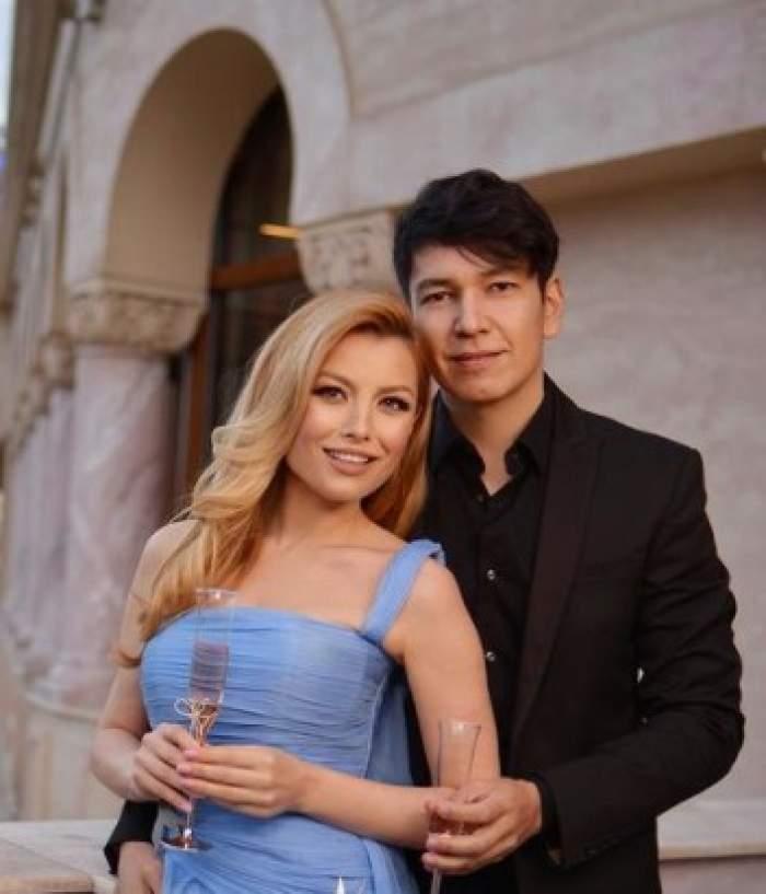 Elena Gheorghe și soțul ei