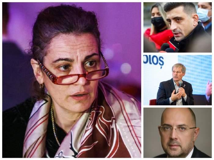 Colaj cu Maia Morgenstern, Dacian Cioloș, George Simion și Kelemen Hunor