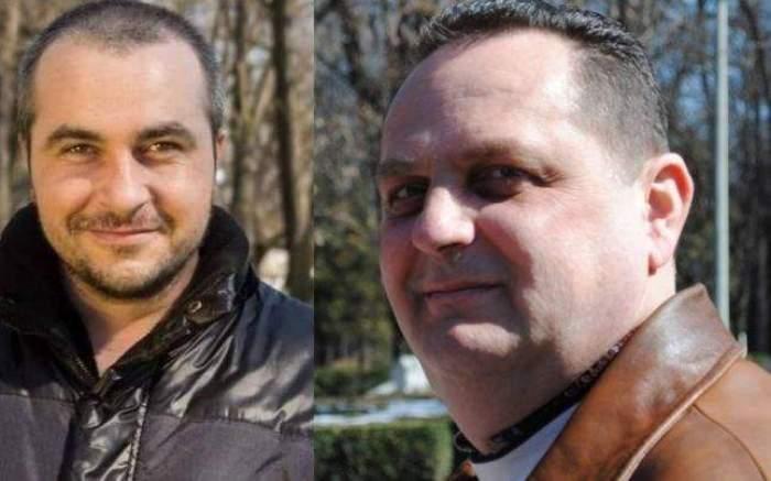 Colaj foto cu cei doi bărbați uciși la Onești