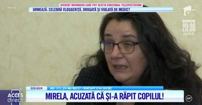 mama condamnata pentru rapire povestindu-si drama la acces direct